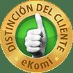 Distinción del Cliente eKomi